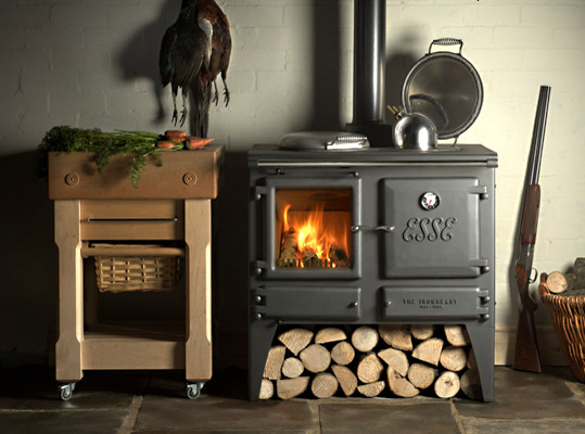 british stoves englische landhausherde esse modell der ironheart. Black Bedroom Furniture Sets. Home Design Ideas