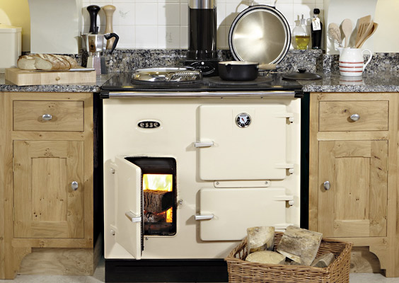 british stoves englische landhausherde esse modell woodfired 905. Black Bedroom Furniture Sets. Home Design Ideas