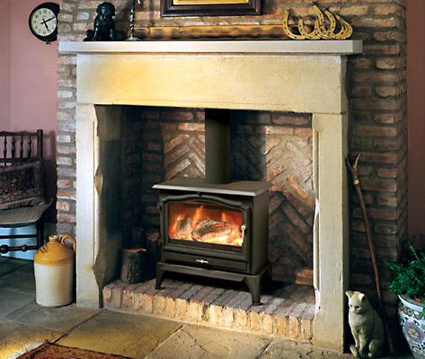 british stoves kaminofen vista f r holz festbrennstoff. Black Bedroom Furniture Sets. Home Design Ideas