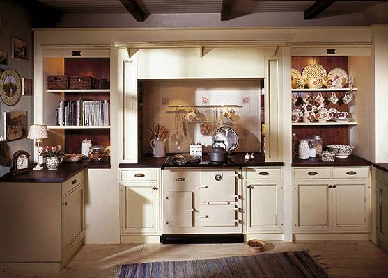 British Stoves Rutherford Rose Landhausküche - Handgebaute englische ...